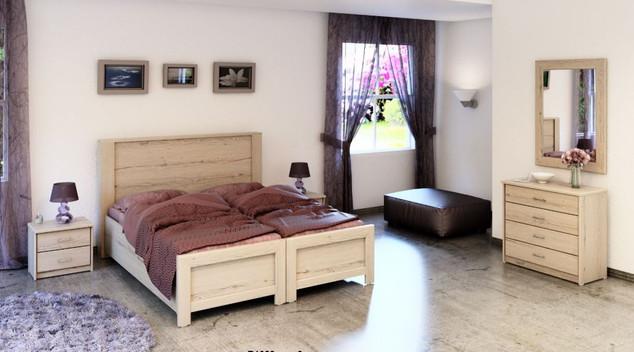 Раздельные кровати модель Рона