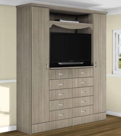 Шкаф с нишей для телевизора модель 405