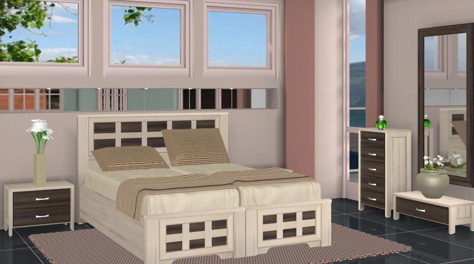 Кровати раздельные модель Михаль