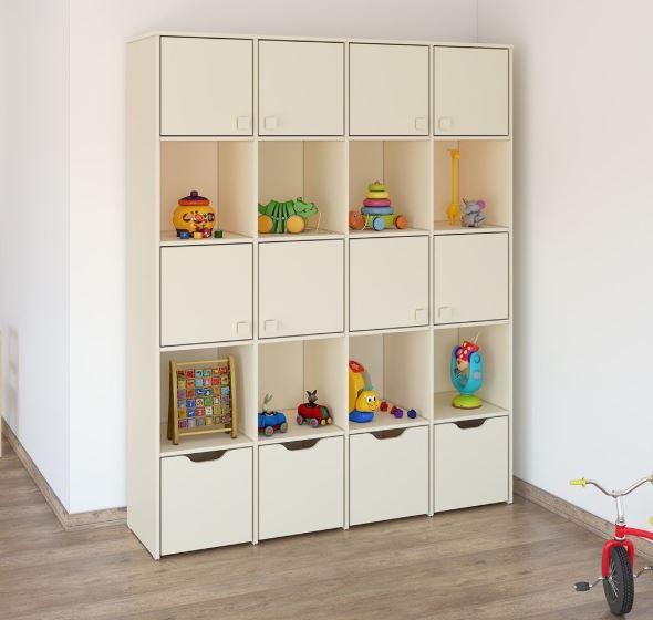 детский шкафчик для игрушек 491