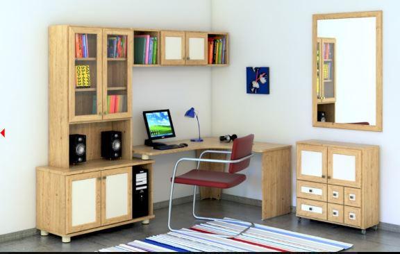 угловой стол компьютерный модель421