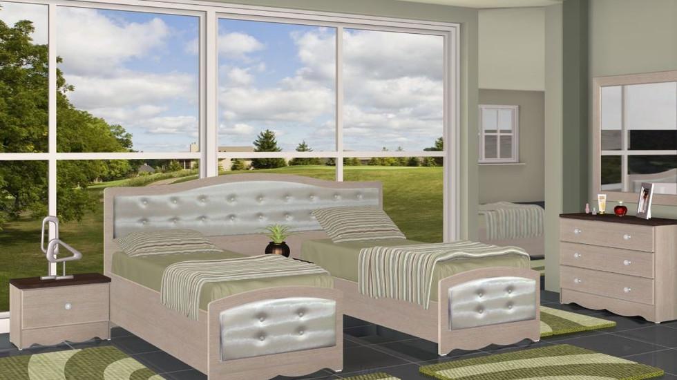 Кровати раздельные модель Мика
