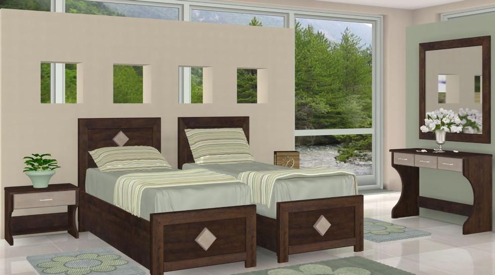 Раздельные кровати модель Тамар