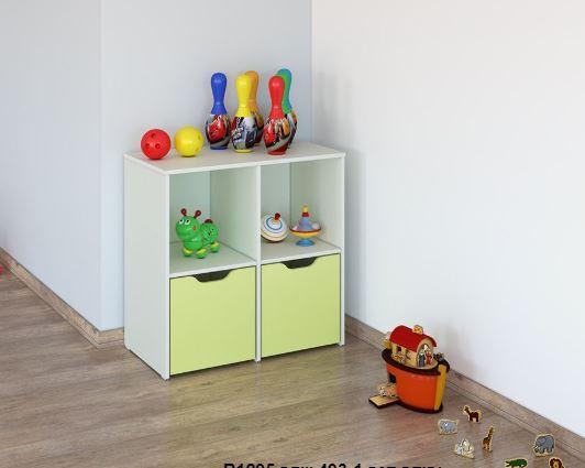 Детский шкаф для игрушек 493