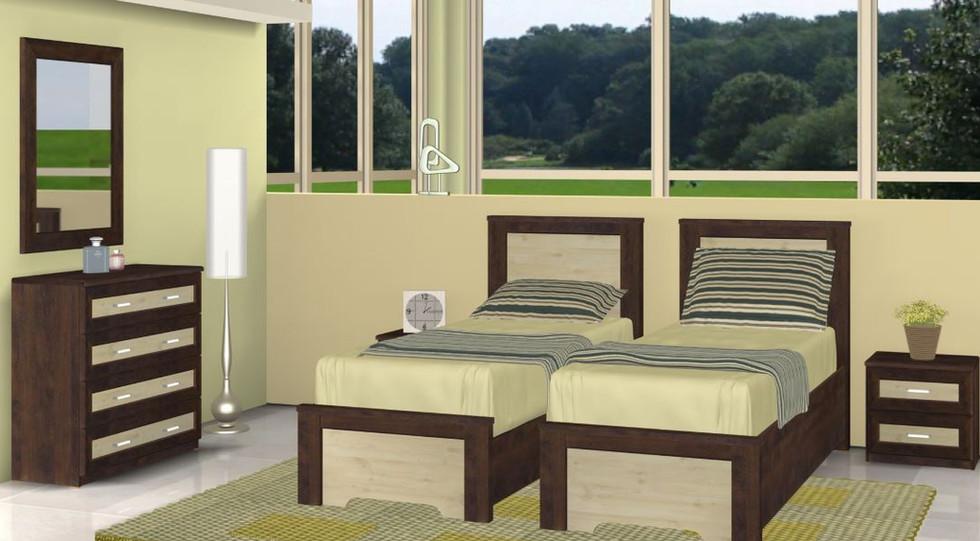 Кровати раздельные модель Мартиник