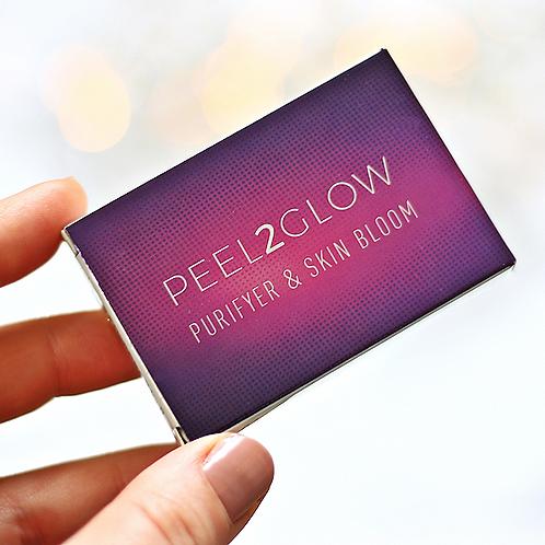 Peel2Glow is a 2-step treatment from award-winning brand Skintech.