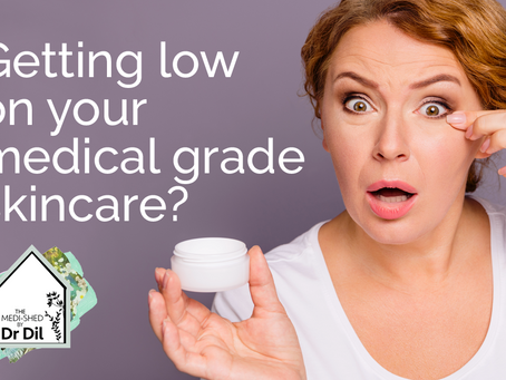 Medical grade skincare available at The Medished