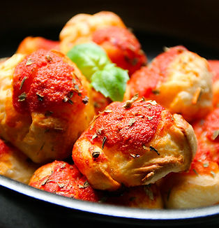 San Marzano tomato garlic pizza balls 1