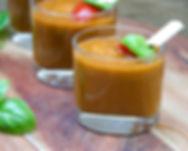 Traditional Spanish gazpacho