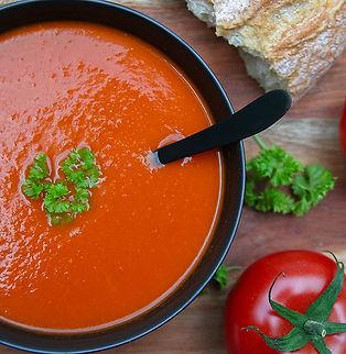 Tomato pepper chorizo soup Sevance 2 72d