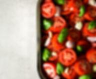 Roast tomato and garlic sauce