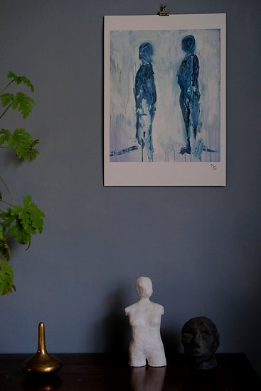 "Fine art print ""Konversation"""