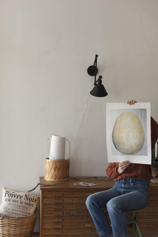 Printet Egg hos Christina Strehlow