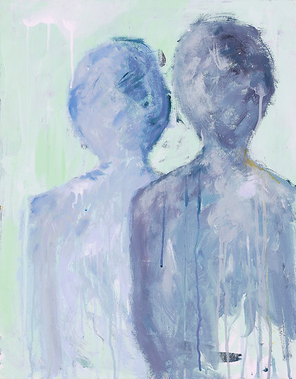 "Fine art print ""Two men"""