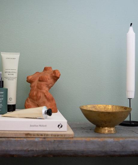 "Skulptur, terracotta ""Susanne"""