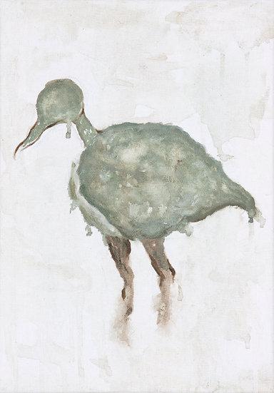 """Fine art print """"Grön fågel"""""""