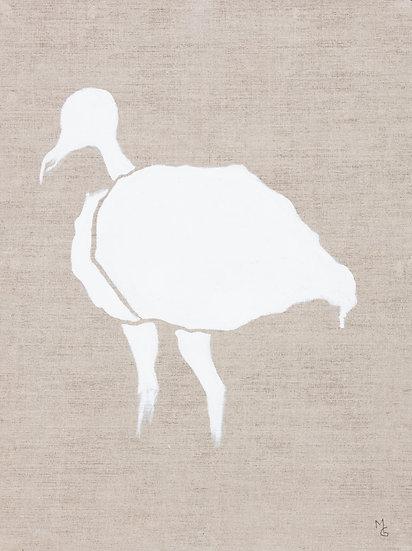 Poster Vit fågel - från 195 kr