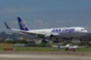 照片03:安捷教練機DA42NG於16日中午飛抵桃園國際機場。(照片提供:安捷飛