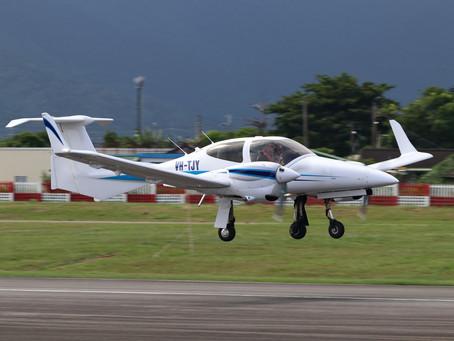 不畏疫情引進新機DA42-VI 臺灣飛航訓練再添新戰力
