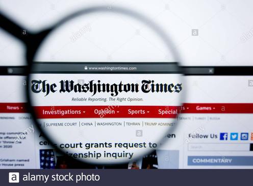los-angeles-california-usa-25-june-2019-illustrative-editorial-of-the-washington-times-web