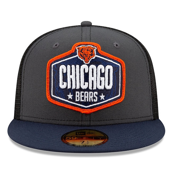 Chicago Bears 2021 On-Stage 59Fifty Draft Cap by New Era