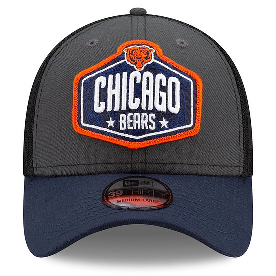 Chicago Bears 2021 On-Stage 9Forty Adjustable Draft Cap by New Era