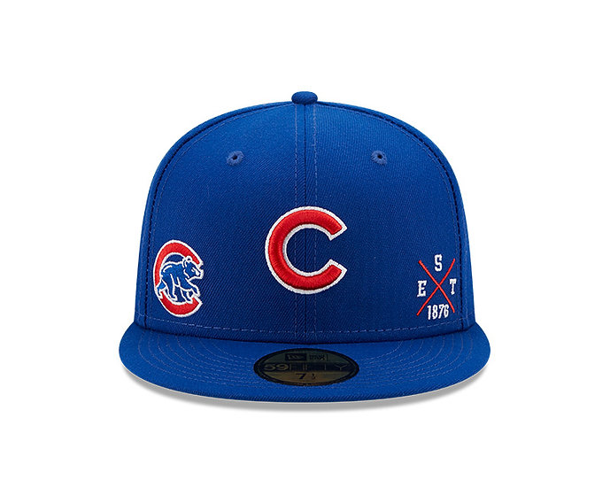 Chicago Cubs Multi Logo 59Fifty by New Era