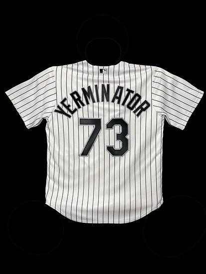 "Chicago White Sox Official ""YERMINATOR"" Replica Jersey"