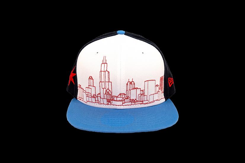 Chicago Skyline New Era 9Fifty Snapback