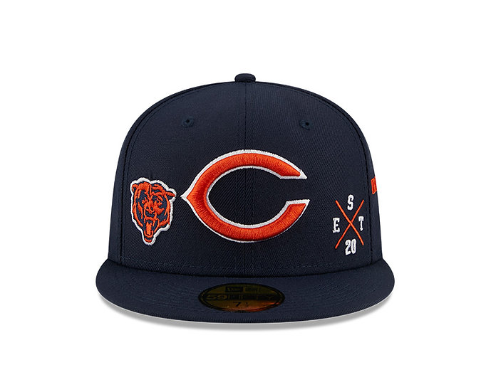 Chicago Bears Multi Logo 59Fifty by New Era