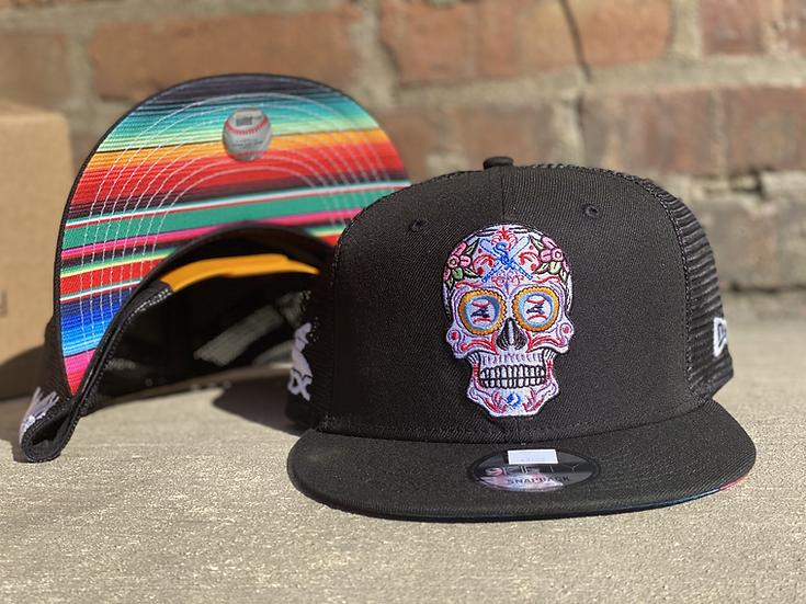 Chicago White Sox Sugar Skull 9Fifty Snap Back Serape Undervisor by New Era