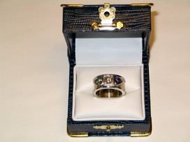 Yellow & White Gold Mother's Ring