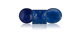 Lapis Lazuli is a gemstone that is medium to dark, slightly greenish blue to violetish blue.  It is often used in jewelry.