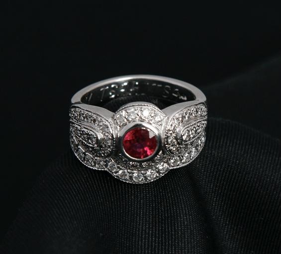 Antique Style Bridal Set