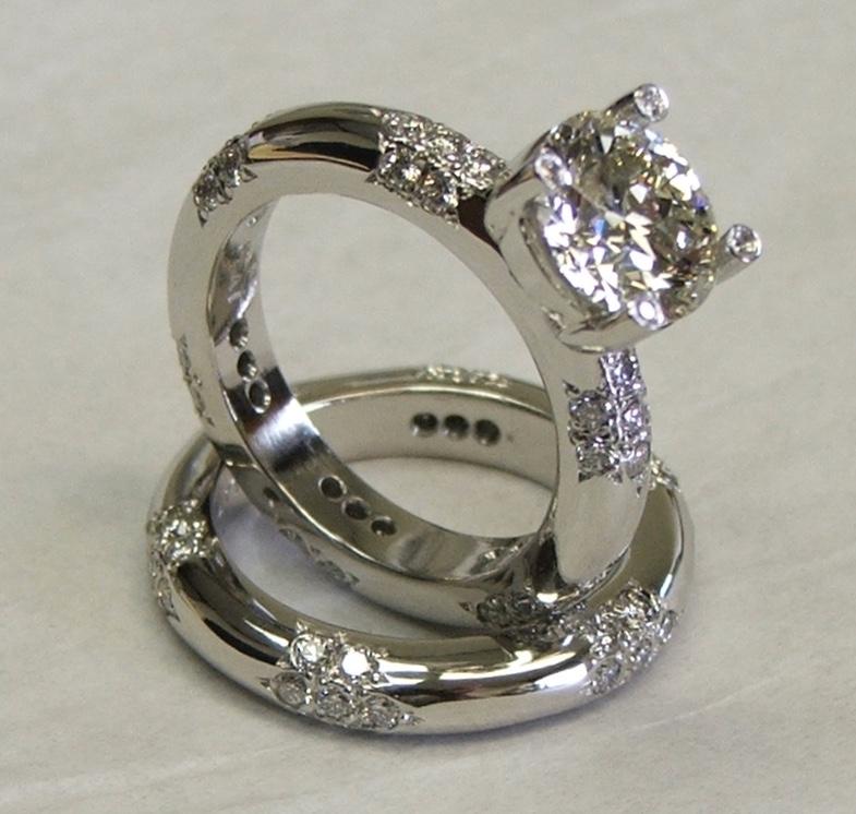 Platinum Diamond Bridal Set