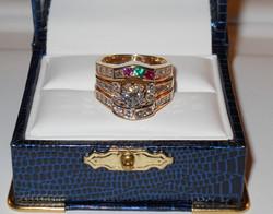 Custom-made Mother's Ring