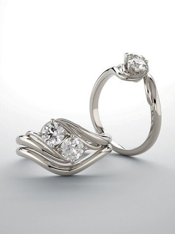 Two-Stone Engagement Rings