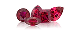 Ruby is a red gem and is one of the most prized color gemstones.