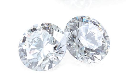 Natural & Lab Created Round Brilliant Cut Diamonds