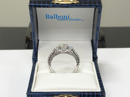A Surprise Engagement Ring For Katie