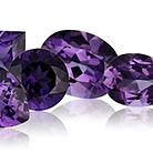 Amethyst - purple quartz gemstne, February birthstone