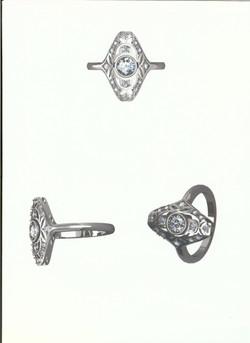 Balboni antique ring - Denise Clark