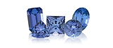 Tanzanite is a popular blue to violetish blue gemstone.