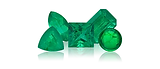 Emerald is a transparent gemstone light tovery dark green to very strongly bluish green. Emerald is the birthstone for May.