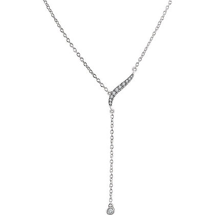 "14K Gold 1/10 CTW Diamond Y 16-18"" Necklace"
