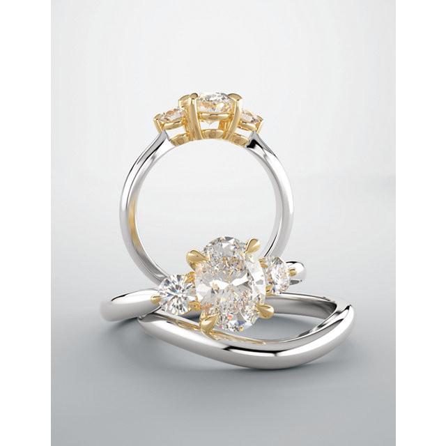Three-Stone Engagement Rings