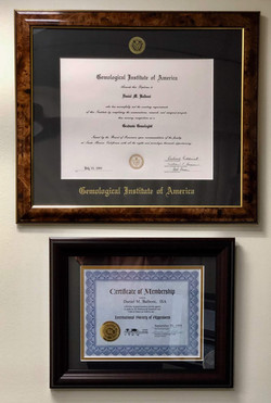 GIA Certificate/ISA Certificate