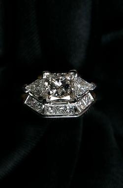 Diamond Ring & Wedding Band