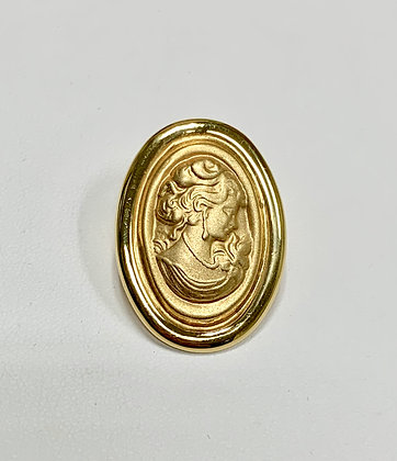 Yellow Gold Cameo
