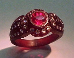 Antique Style Dome Ring Wax